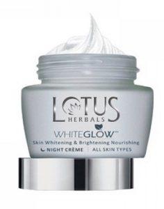 Lotus Herbals White Glow Skin Whitening and Brightening Night Cream