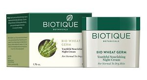 Biotique Wheat Germ Nourishing Youthful Night Cream
