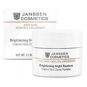 Janssen Cosmetics White Secrets Brightening Night Restore Cream