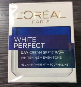 L'OREAL PARIS White Perfect Day Cream SPF17 PA++ Whitening