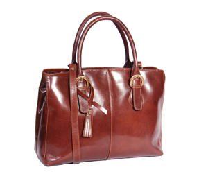 Ladies Italian Leather Tote