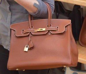 Hadi's Creation Brown Handbag
