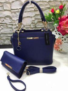 Blue Fashion Handbag