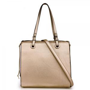 Gold Fashion Tote Handbag