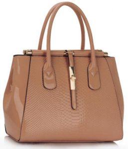 Nude Twist Lock Frame Bag