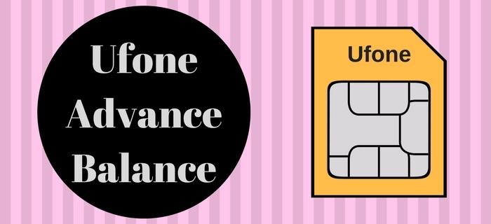 Ufone Advance Balance