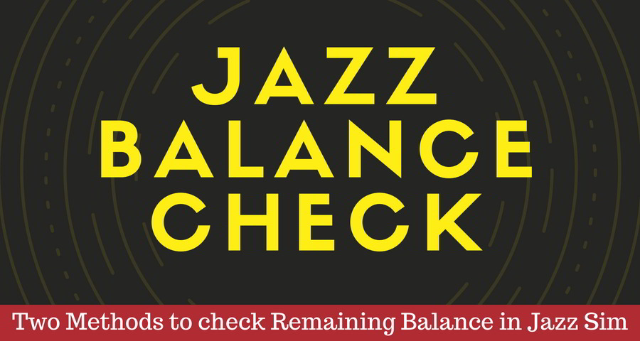 How to check remaining Balance in Mobilink Jazz sim [2019]