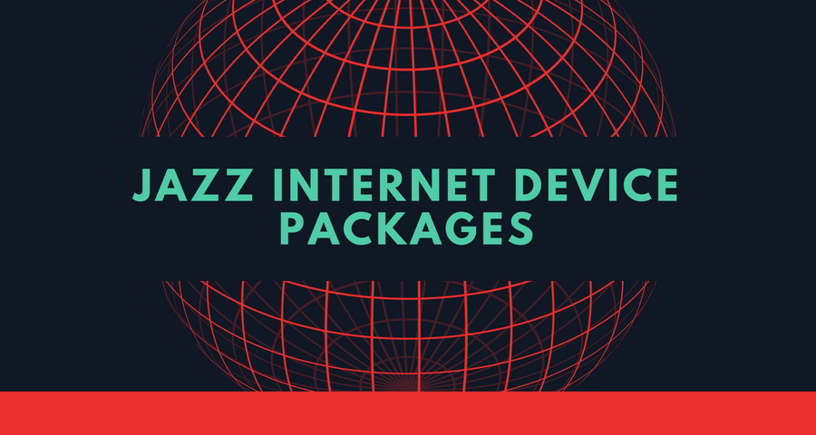 Jazz Wifi & Mifi 3G/4G devices internet Packages [September