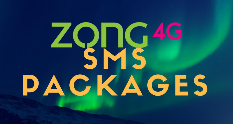 zong sms bundles
