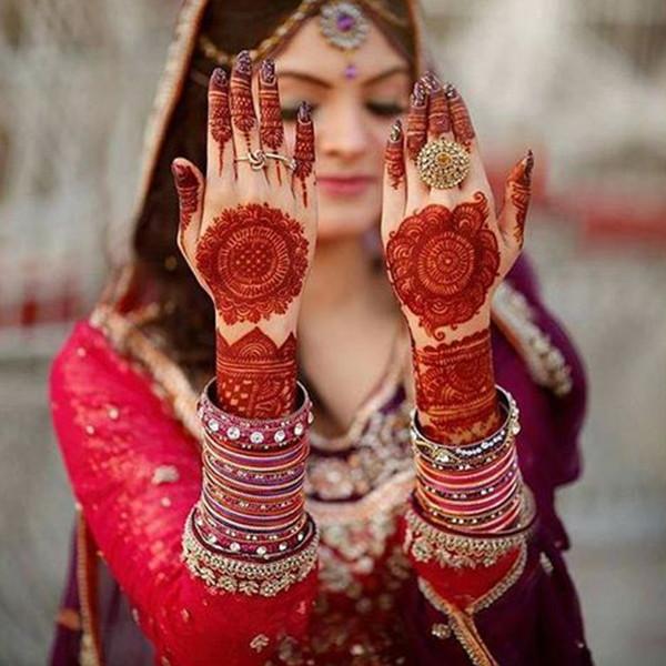 bridal mehndi designs latest