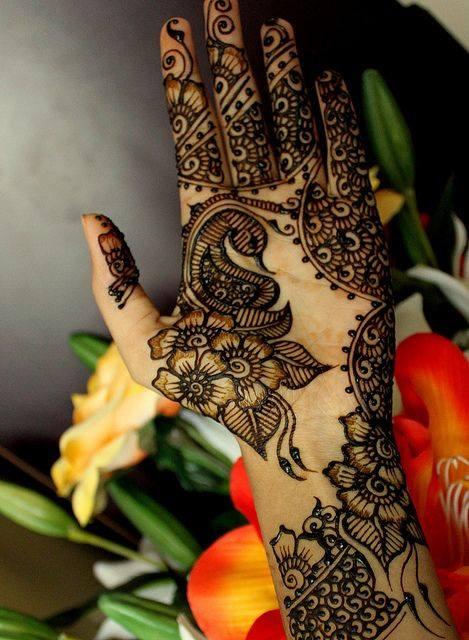 henna mehndi design full hand