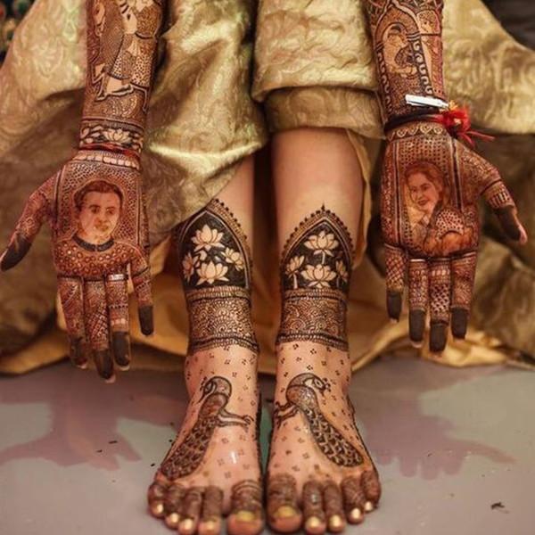 latest legs henna designs
