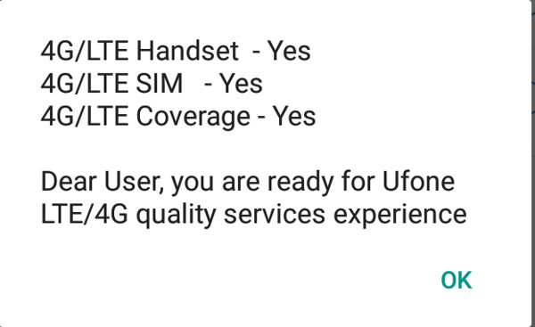 Code for 4G LTE SIM